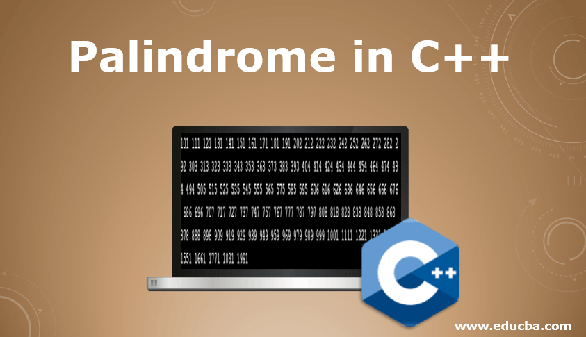 Palindrome in C++