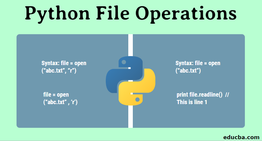 Python File Operations