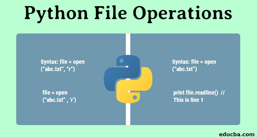 Python File Operations
