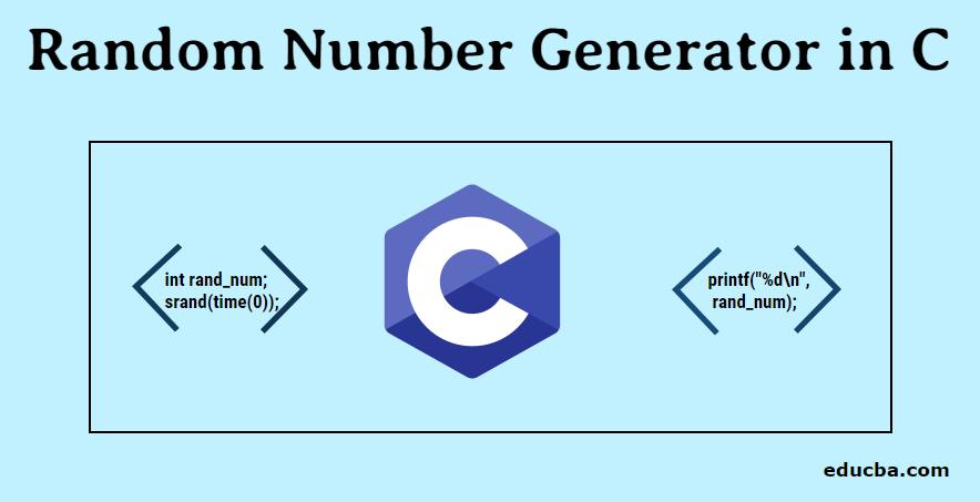 Random Number Generator in C
