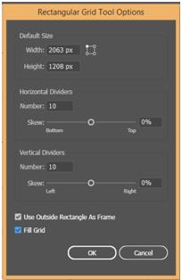 Illustrator Grid Tool 12