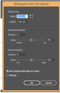 Illustrator Grid Tool 7