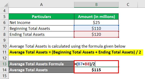Return on Average Assets-1.2