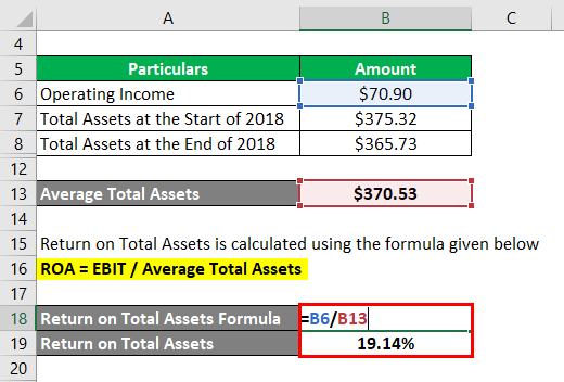 Return on Total Assets-2.3