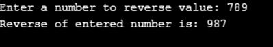 Reverse Number in C++-3.1