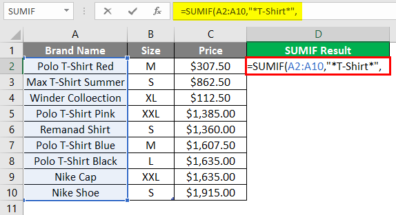 Text String in Excel 3-5