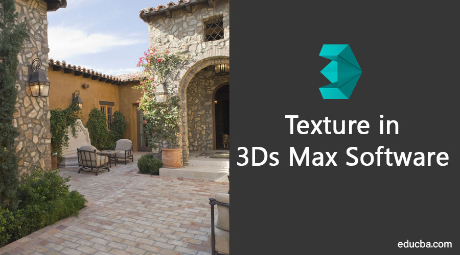 Texture in 3Ds Max Software