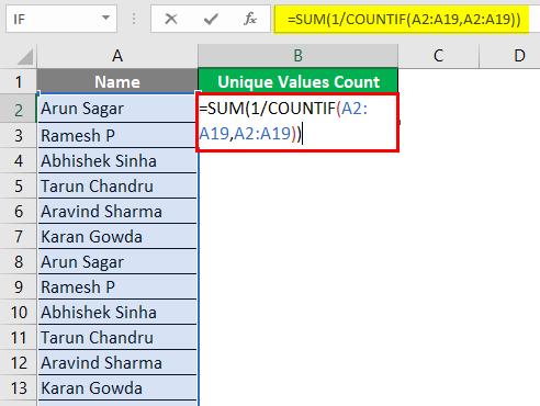 Count of Unique Values 6-1