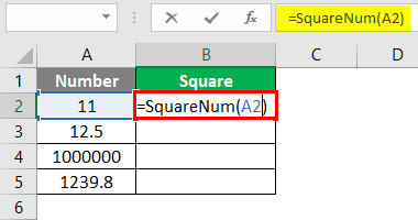 User defined Function excel 4