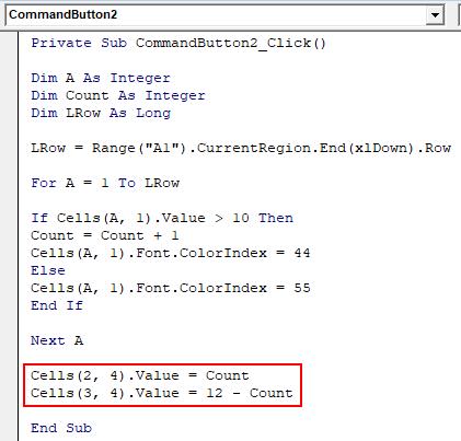 VBA Counter Example 1-11