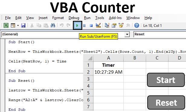 VBA Counter