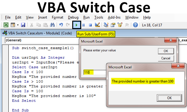 VBA Switch Case