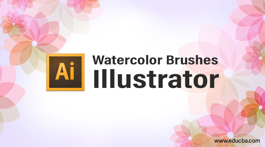Watercolor Brushes Illustrator