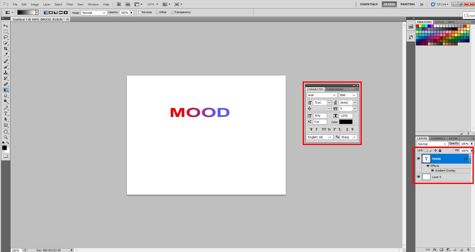 Adding Mood Sticker in Photoshop 12