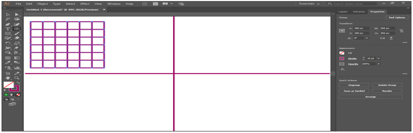 adjust the size of grid