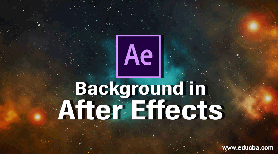 Background in After Effects
