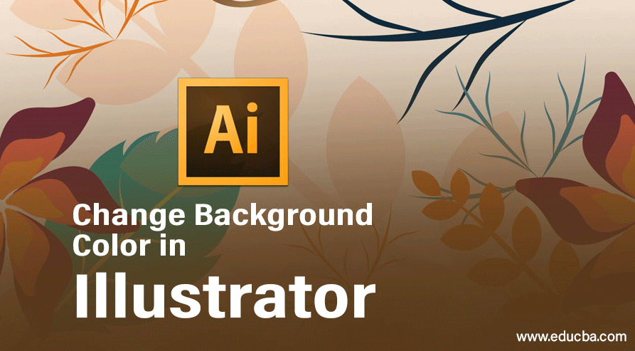 change background color in illustrator