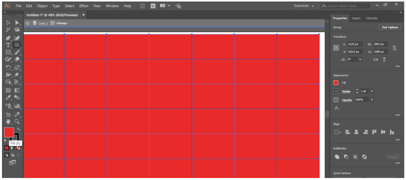 fill color option
