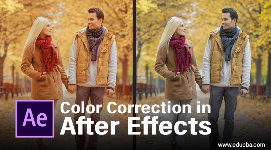 color correction in after effects