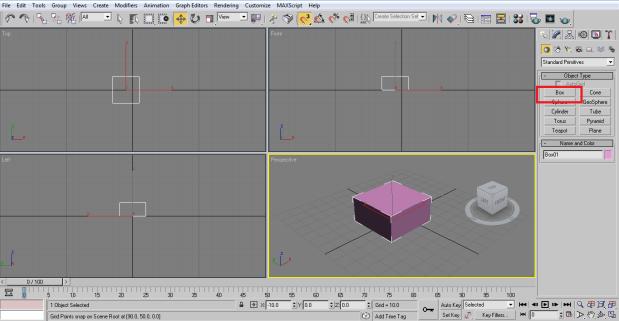 create box 3ds Max Architecture