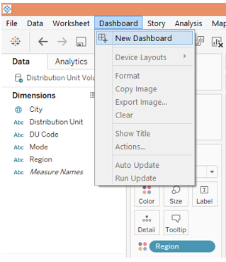 Adding Filters in Tableau Dashboard