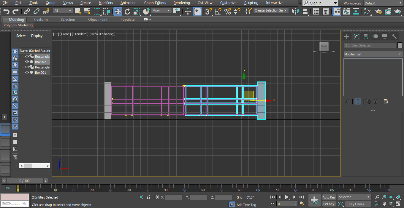 drag to copy (Animation in 3ds Max)
