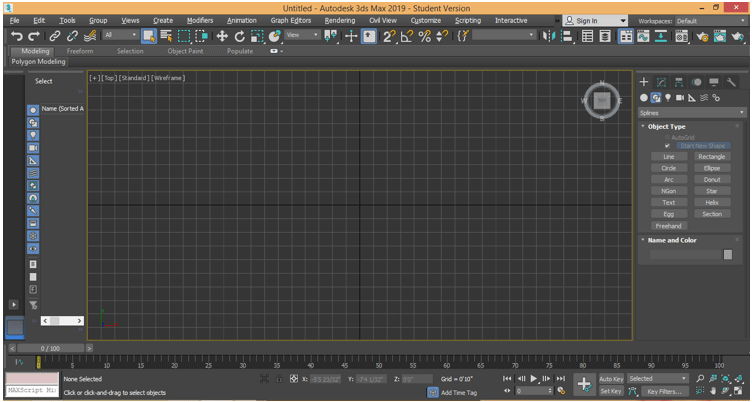 3Ds Max Extrude 4
