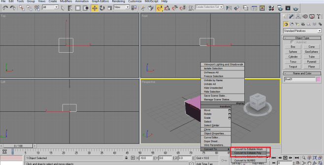 editable poly (3ds Max Architecture)