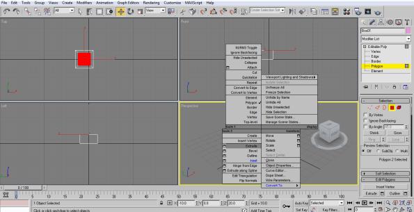 extrude box (3ds Max Architecture)