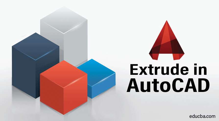 Extrude in AutoCAD