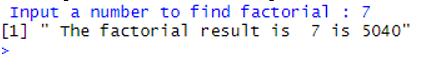 input number