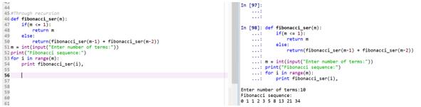 Fibonacci Series in Python10