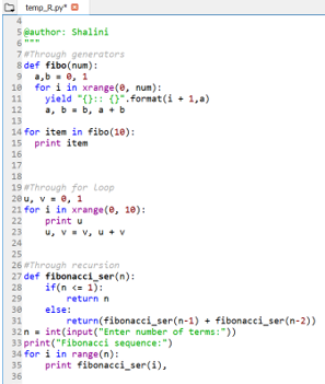 Fibonacci Series in Python 11