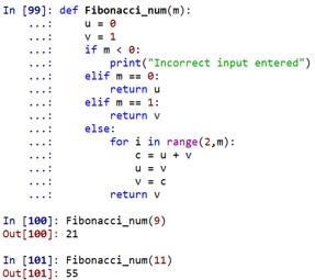 fibonacci python3