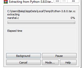 install python 4
