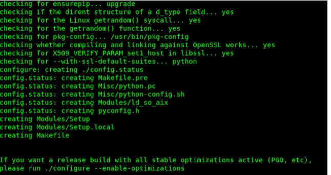 install python 8