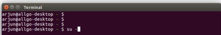 login in (Create User in Linux)