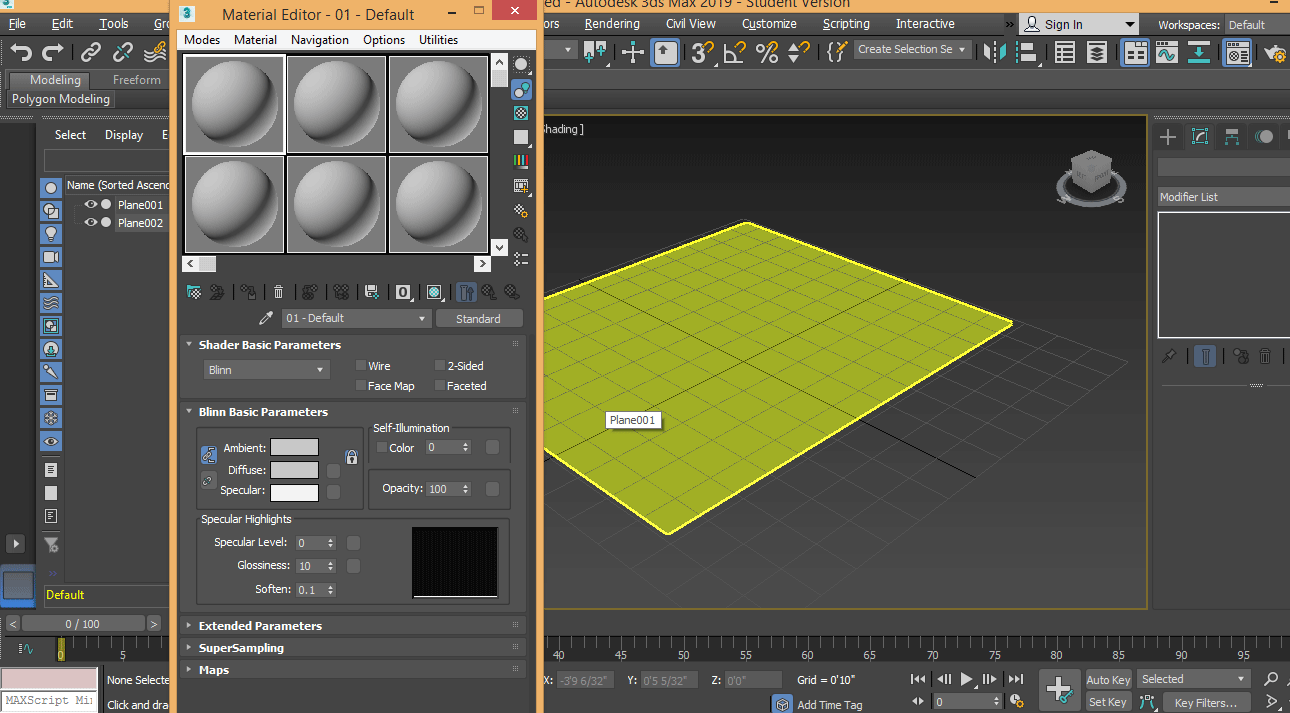 material editor (Rendering in 3ds Max)