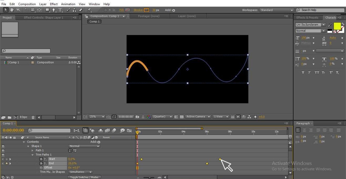 moving animation