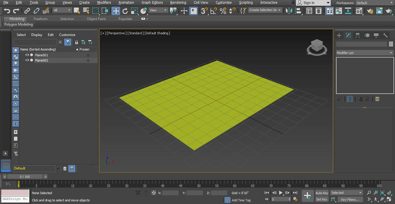 normal screen (Rendering in 3ds Max)