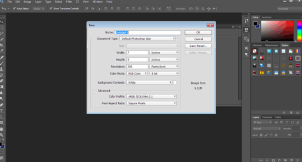default phtoshop (smart object in photoshop)