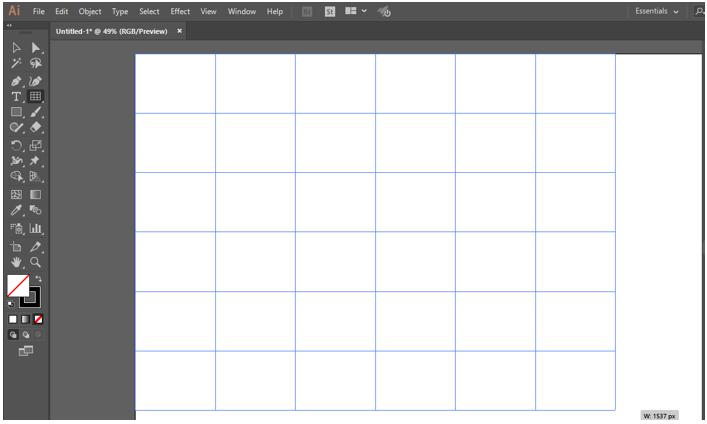 Illustrator Grid Tool 9