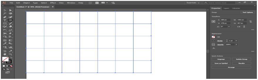 Illustrator Grid Tool 11