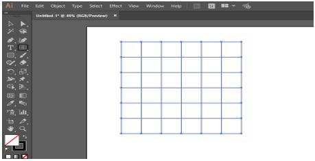 Illustrator Grid Tool 8