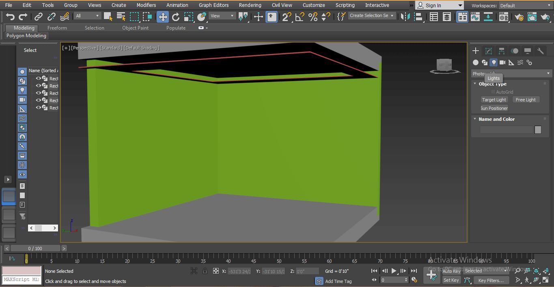 predesign model (Mental Ray in 3ds Max)