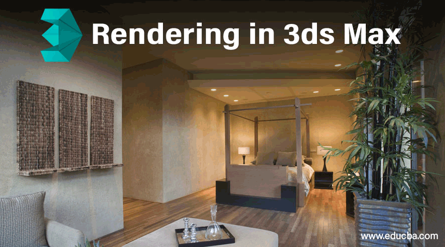 Rendering In 3ds Max Creating Render Setup For 3d Objects