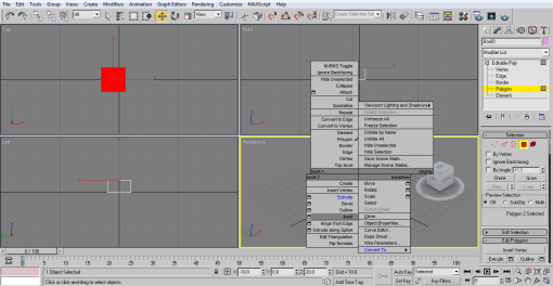 select inset (3ds Max Architecture)