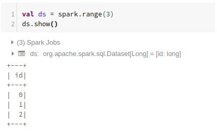 spark dataset