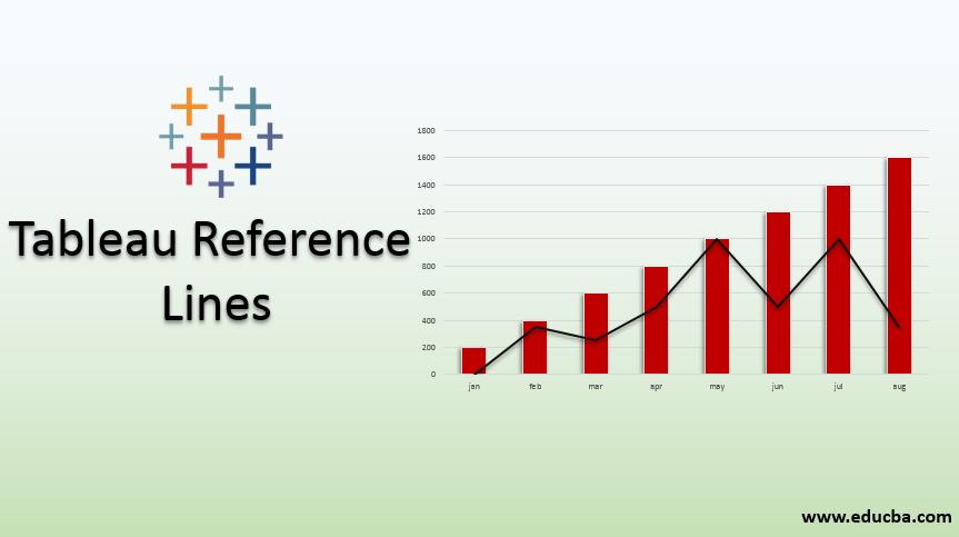 tableau reference lines