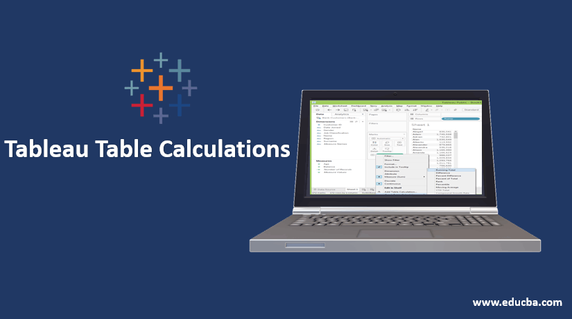 tableau table calculation